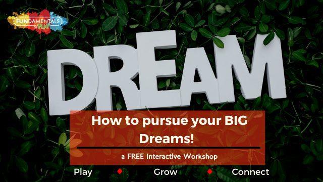 Dream Big and Fail Joyfully